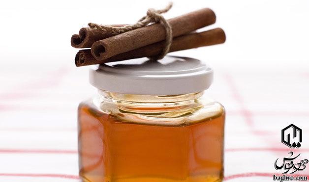 عسل و دارچین
